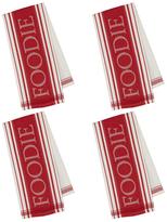 Foodie Jacquard Dish Towels (Set of 4)