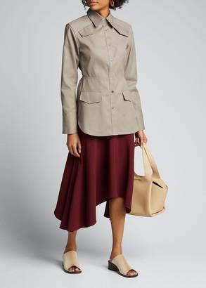 Jason Wu Asymmetric Drape Skirt