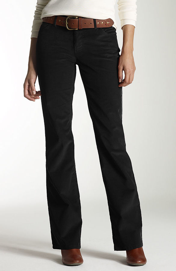 J. Jill Authentic Fit boot-cut stretch cords