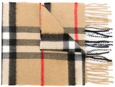 Burberry Heritage Check scarf - kids - Cashmere - One Size