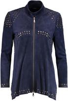 Rebecca Minkoff Bali studded suede jacket