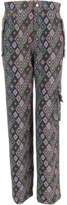 Relax Baby Be Cool Multicolor Cotton Long Trousers With Pockets