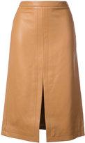 Derek Lam Pencil Skirt With Front Slit