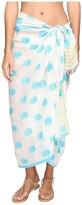 Echo Pineapple Pareo Wrap Cover-Up Women's Swimwear