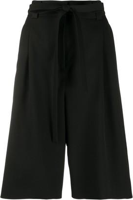 Valentino tie-waist Bermuda shorts