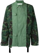 Off-White camouflage print cargo jacket - men - Cotton - XS