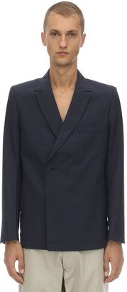 Jacquemus MID DOUBLE BREASTED VIRGIN WOOL BLAZER