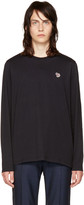 Paul Smith Black Long Sleeve Zebra T-shirt