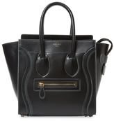 Luggage Micro Leather Tote
