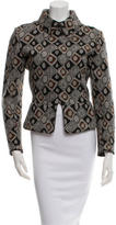 Alaia Wool Geometric Patttern JAcket