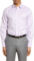 Nordstrom Traditional Fit Non-Iron Plaid Dress Shirt