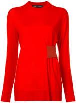 Proenza Schouler cinched waist sweater