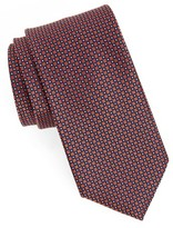 Nordstrom Men's Purquet Pin Dot Silk Tie