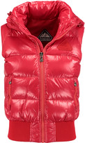Pyrenex New Mythic quilted glossed-shell down gilet
