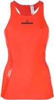 adidas by Stella McCartney racer back tank top - women - Polyester/Spandex/Elastane - S