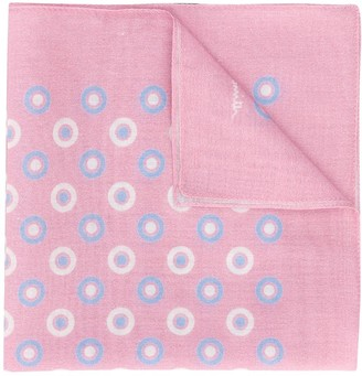 Paul Smith Circle Print Pocket Handkerchief