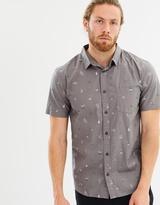 Quiksilver Mens Baja Moment Mini Motif Short Sleeve Shirt