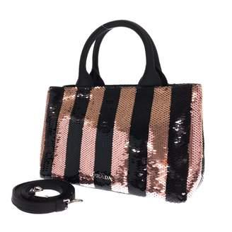 Prada Pink Glitter Handbags