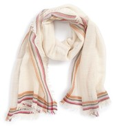 Tory Burch Women's 'Signature' Wool Scarf