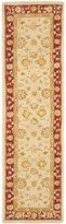 Safavieh Anatolia Collection AN522C Handmade and Red Wool Runner, 2 feet 3 inches by 8 feet