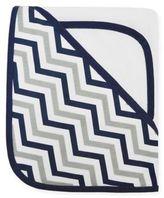 T.L.Care TL Care® Organic Cotton 2-Piece Zigzag Hooded Towel Set