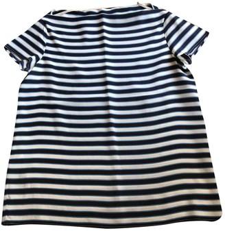 Miu Miu Navy Silk Top for Women