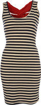 Striped Cross Back Dress by Rare**
