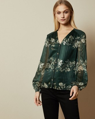 Ted Baker Meadow Sweep Long Sleeved Blouse