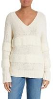 Frame Women's Slouchy V-Neck Sweater