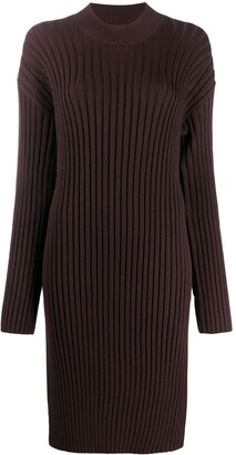 Kenzo Ribbed Sweater Dress