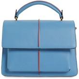 Marni Small Attache Leather Top Handle Bag