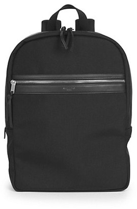 Saint Laurent Classic Zip Canvas Backpack