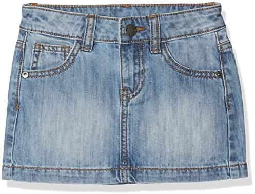 Benetton Girl's Skirt Skirt, Blue (Light Blue 902), 2 Years