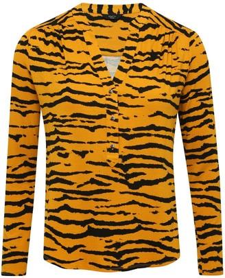 M&Co Petite tiger print shirt