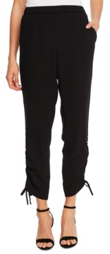 CeCe Side-Ruched Pants