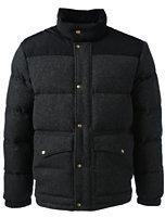 Classic Men's Blocked 600 Down Jacket-Dark Charcoal Heather