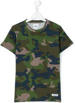Les (Art)Ists Kids - teen Kanye camouflage t-shirt - kids - Cotton - 14 yrs