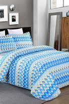 NMK Palma 3-Piece Quilt Set - Teal