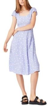 Cotton On Women's Woven Cleo Tie Back Midi Dress