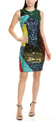 Alice + Olivia Sequin Sheath Dress