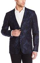 Ted Baker Men's Dorkson-Printed Linen Blazer-Modern Slim Fit
