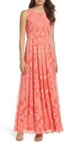 Vince Camuto Petite Women's Chiffon Maxi Dress