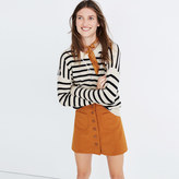 Madewell Cashmere Sweatshirt in Stripe