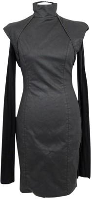 Gareth Pugh Black Cotton Dress for Women