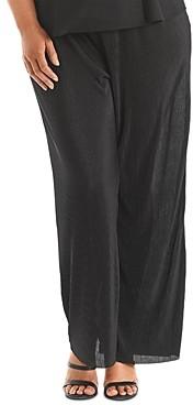 Estelle Plus Accordion-Pleated Pants