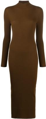 Gentry Portofino Ribbed Knit Bodycon Dress