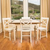 Christopher Knight Home Clearwater Multi-Colored Tile Dining Table (ONLY) with Leaf Extension