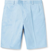 Thom Browne Slim-fit Cotton-twill Shorts