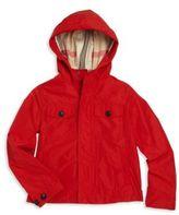 Burberry Little Boy's & Boy's Hooded Jacket