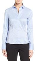 BOSS Petite Women's 'Bashina' Stretch Poplin Shirt